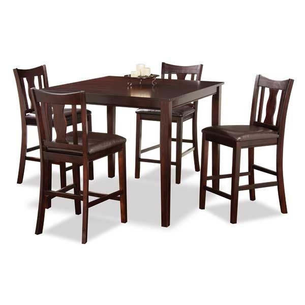 KYLE 5 PIECE COUNTER HEIGHT SET